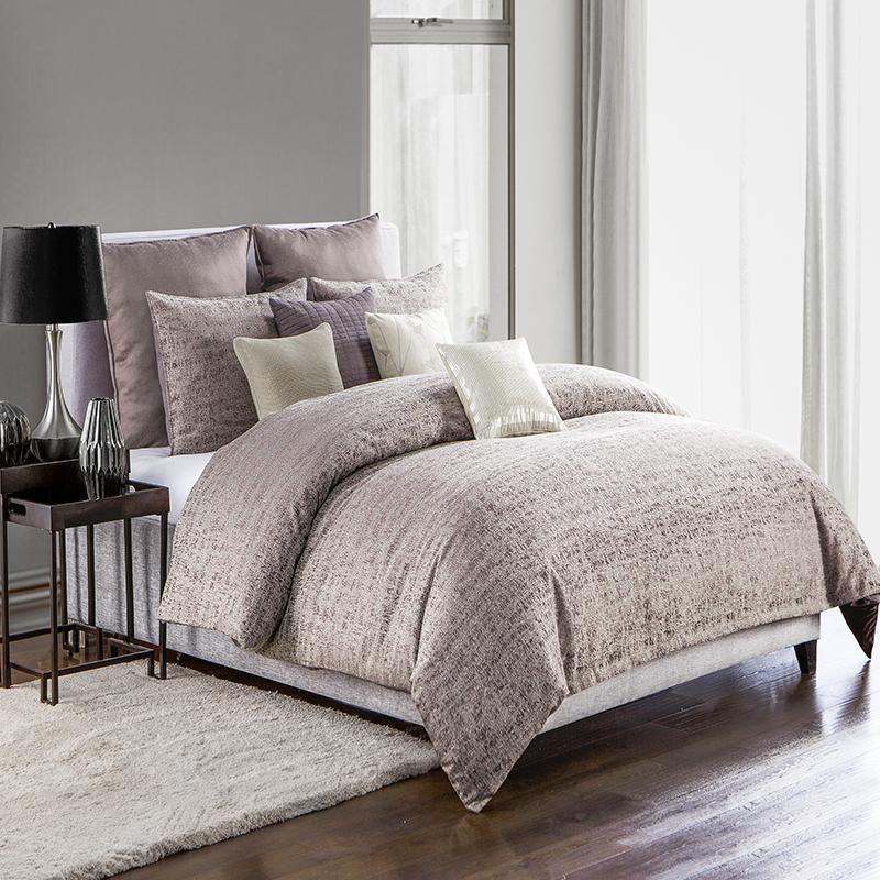 Driftwood Plum 3 Piece Comforter Set Comforter Sets Luxury