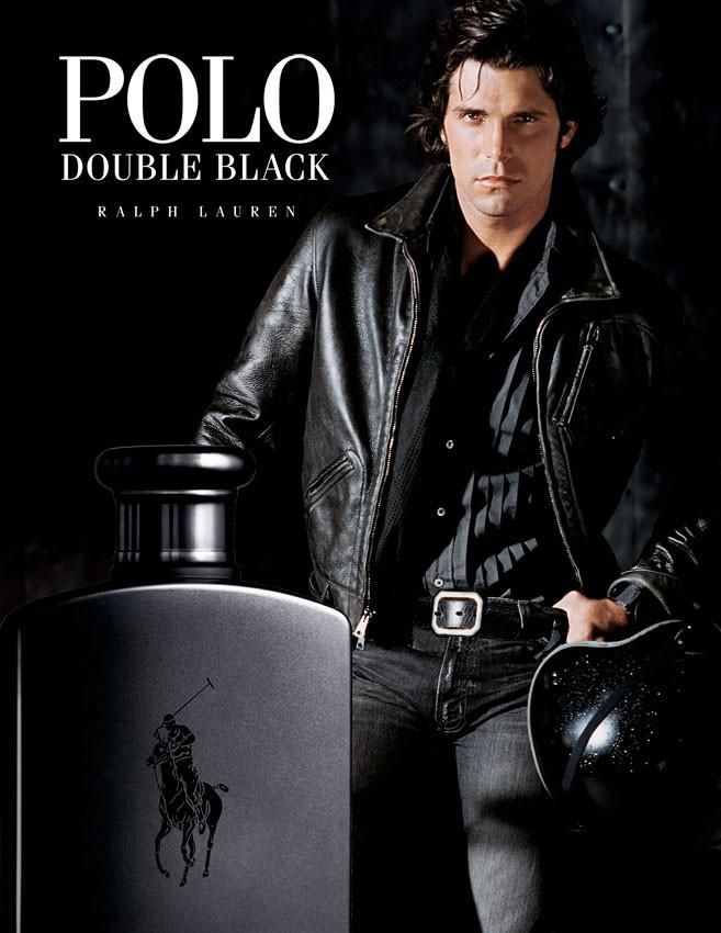 Nacho Figueras Is A Dashing Figure In Leather For Polo Ralph Lauren Double Black Ralph Lauren Nacho Figueras Polo Ralph Lauren Mens
