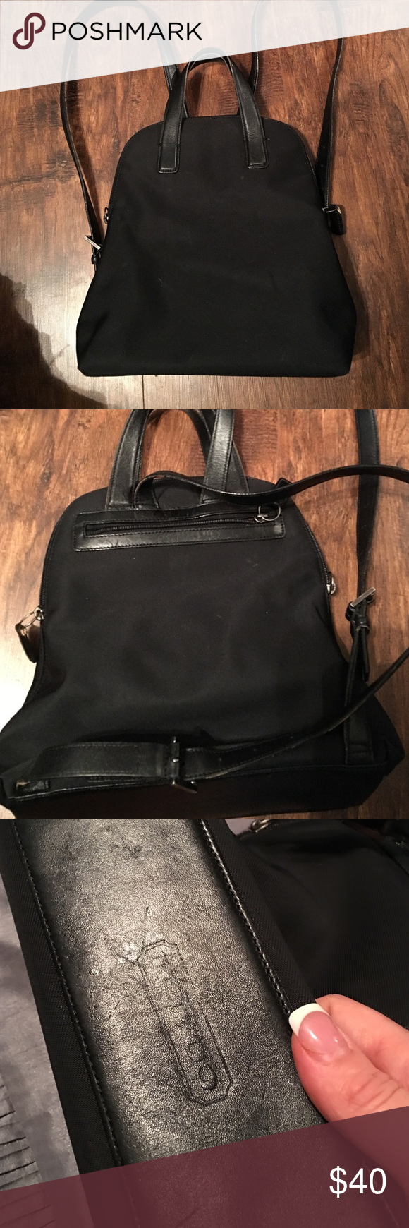 100% authentic coach backpack This is such a comfortable backpack. Not to big and send not too small. I have used it maybe 10xs so is in excellent condition! Coach Bags Backpacks