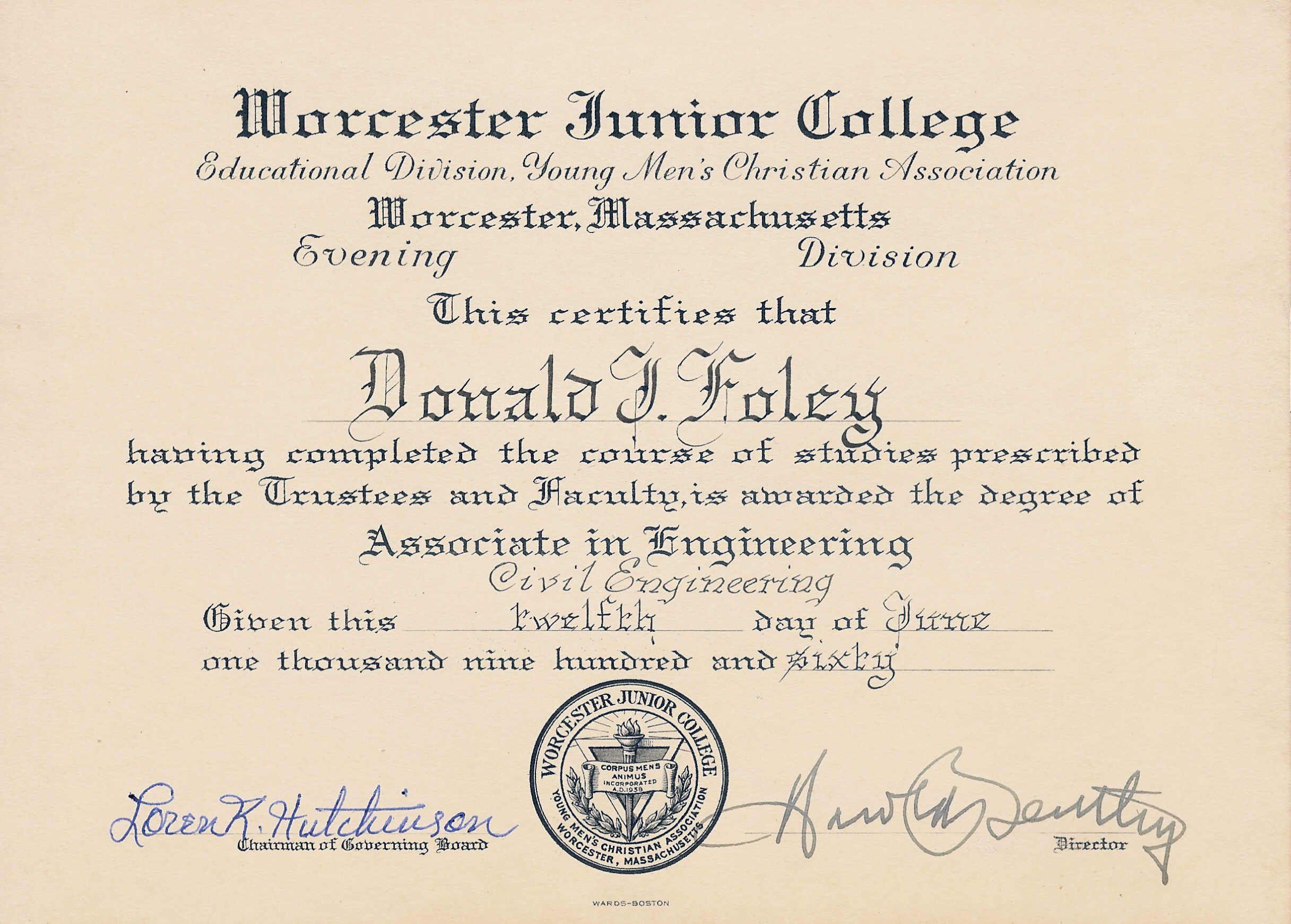 Associate Degree Associate Degree Electrical Engineering