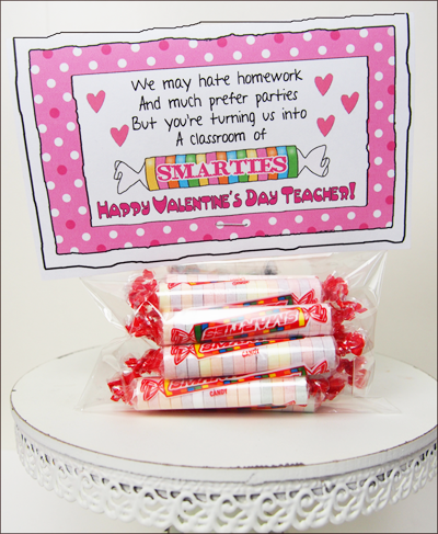 Free teachers printable valentine card--super cute | Sweet Treats ...