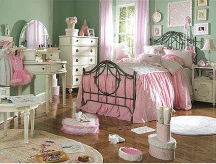 Habitación infantil con estilo Shabby Chic