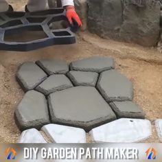 Photo of DIY Garden Path Maker