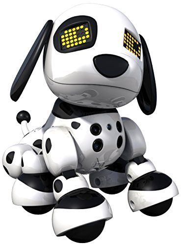 NEW Zoomer Zuppies Interactive Puppy Personal Robot Dog Lights Sounds Spot #zoomer