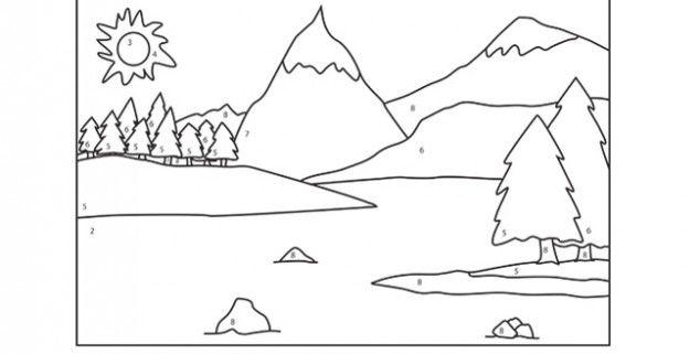 Montana S Para Dibujar Cómo Dibujar Un Paisaje Al Carboncillo Fácil