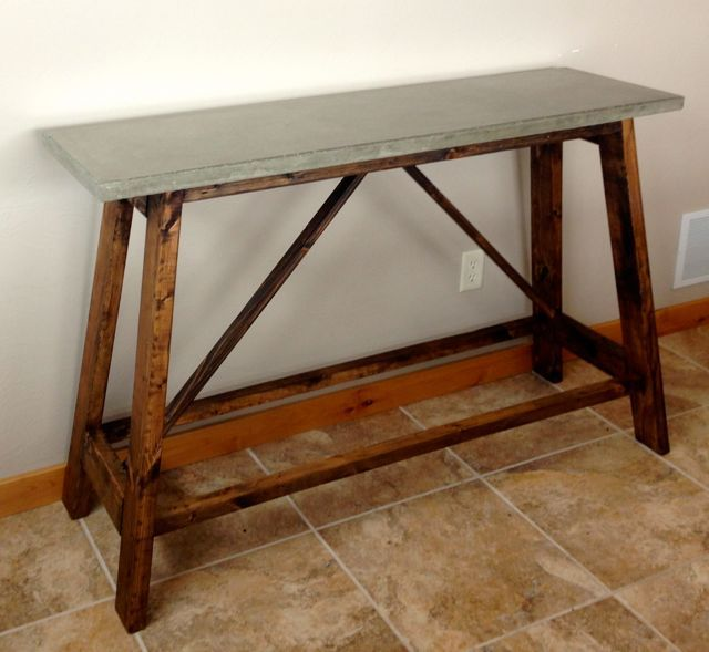 Captivating Pete Shows How To Build Beautiful Concrete Table Tops That Look Great, Are  Cheap To