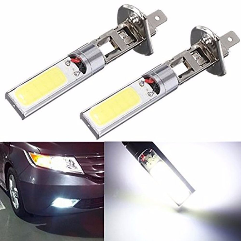 High Quality 2x H1 12v 10w H1 Cob Led Car Fog Light Bulbs 6000k Led Auto Car Driving Lamp H1 Running Lights For Auto Bulb Led Bulb