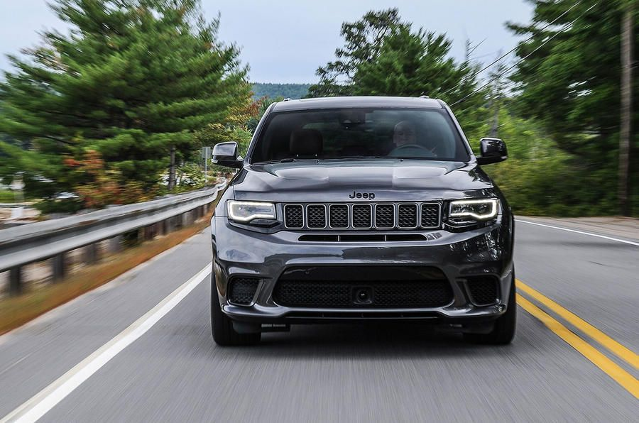Jeep Grand Cherokee Trackhawk Front End Jeep Grand Cherokee