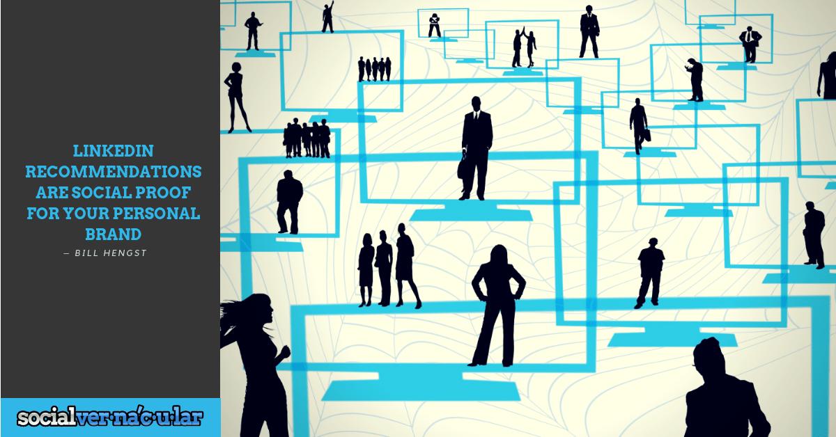 Linkedin as Social Proof Social proof
