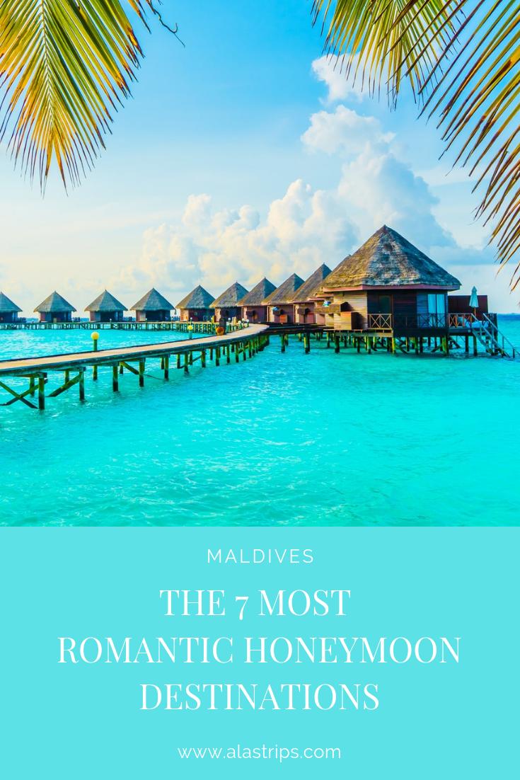 The 7 Most Romantic Honeymoon Destinations