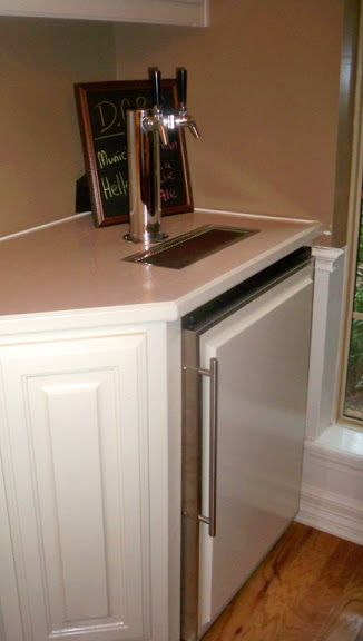 built in kegerator under counter brewer homebrew forum view topic under bar kegerator on outdoor kitchen kegerator id=38889