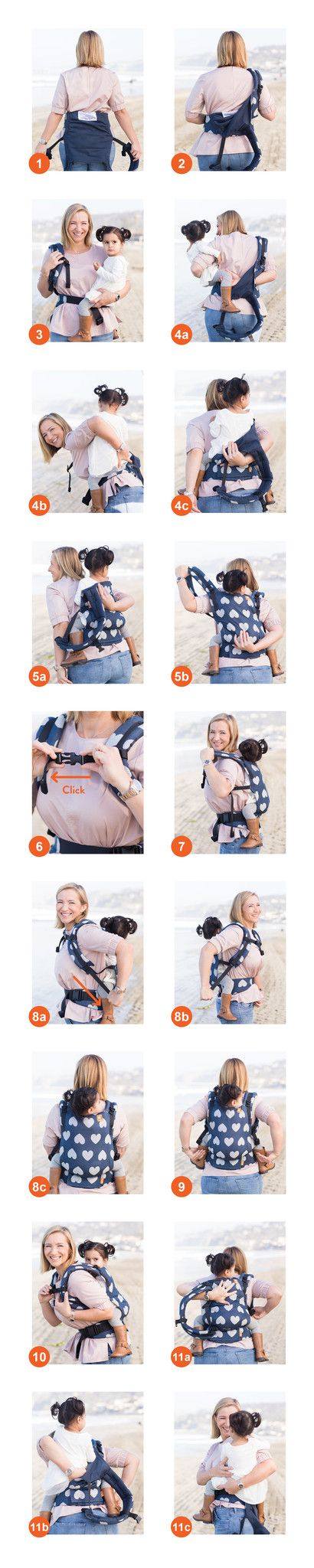 Baby Tula Free To Grow Back Carry Instructions Tula Teaches