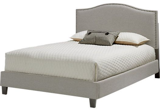 Belfield Silver 3 Pc Queen Bed Queen Beds For Sale Bed Furniture At Home Furniture Store