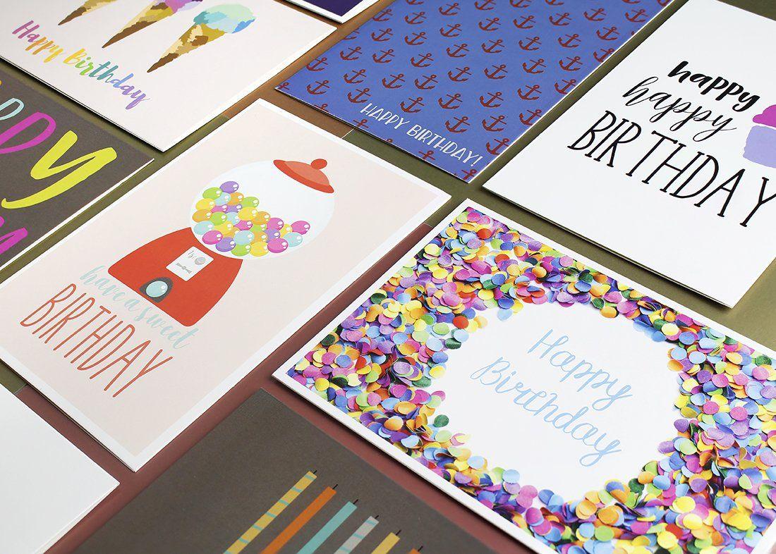 36 Pack Birthday Cards Birthday Cards Happy Birthday Cards Cards