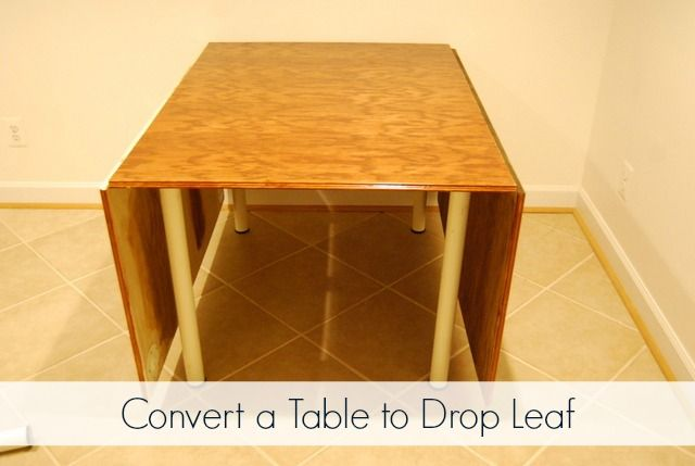 Studio Update Part 14 Converting My Sewing Table To Drop Leaf