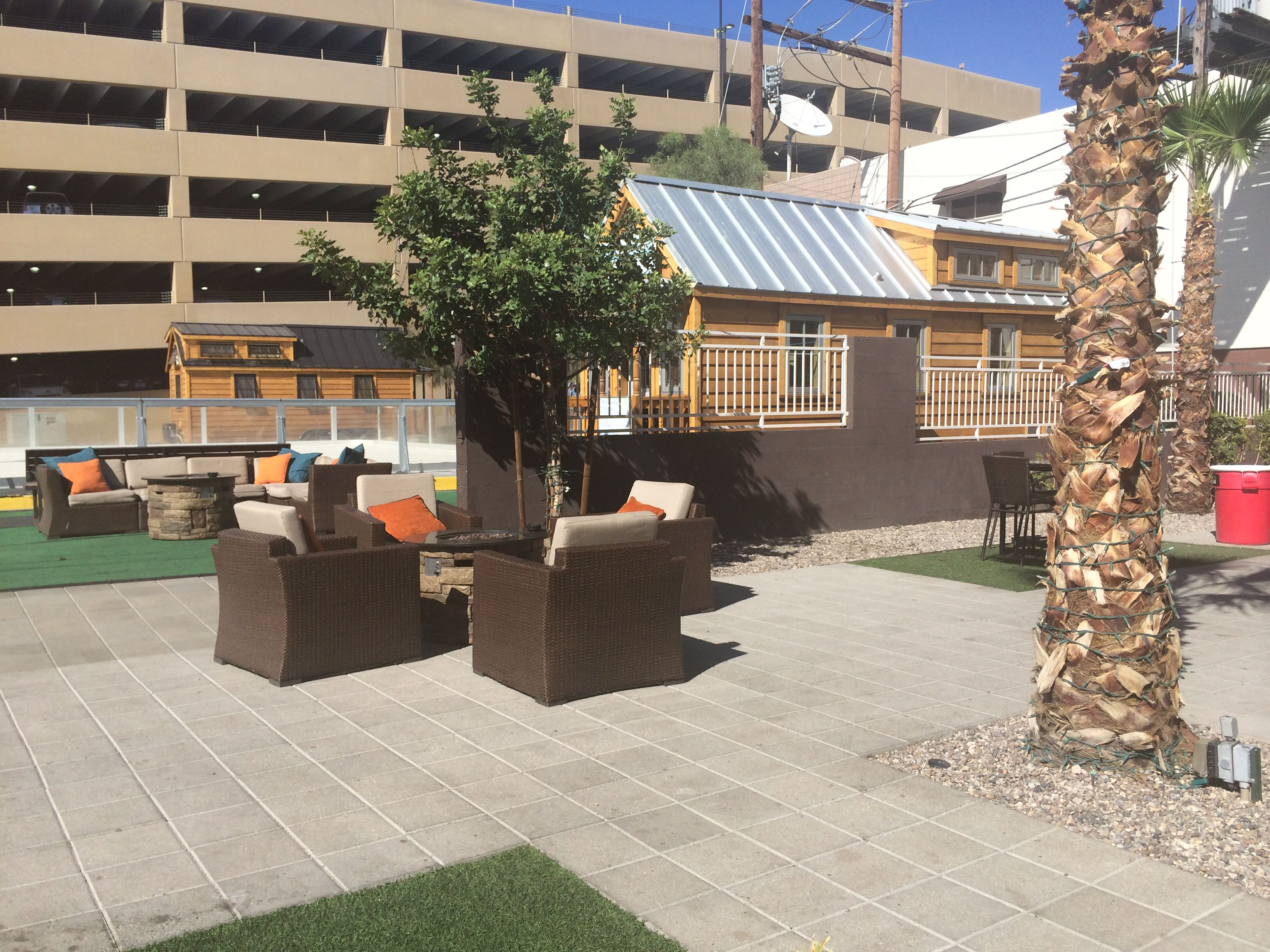 backyard the gold spike las vegas nv the downtown project
