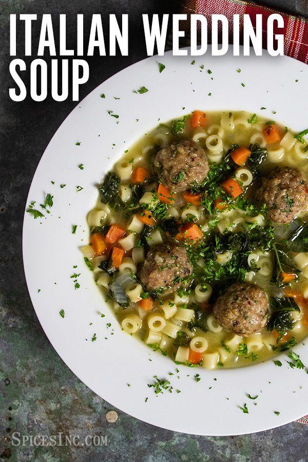 Easy Italian Wedding Soup Marriage Soup Recipe Recipe