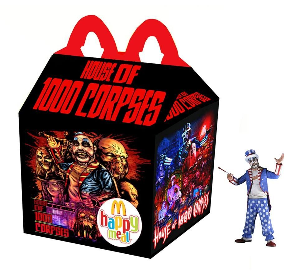 """House of 1000 Corpses"" Happy Meal"