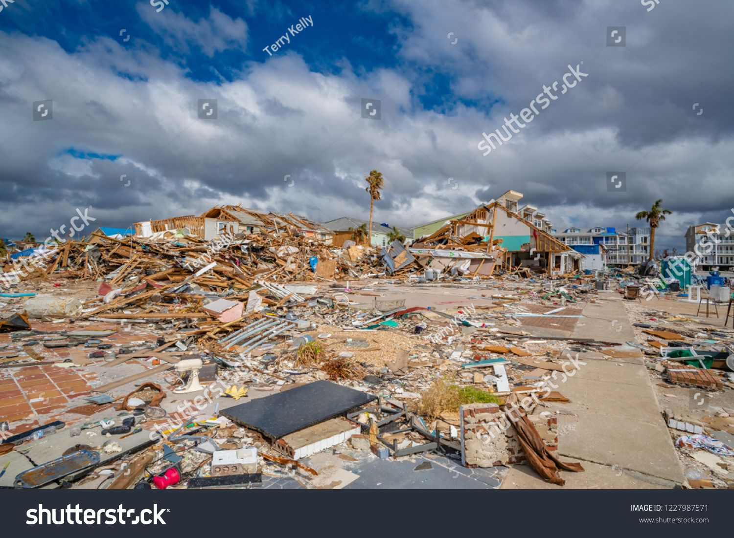 Mexico Beach Florida United States October 26 2018 16 Days After Hurricane Michael The Mexico Beach Publ Mexico Beach Florida Mexico Beach Florida Beaches