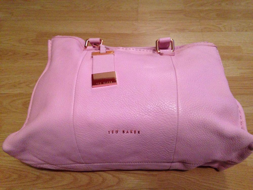 Ted Baker London Genuine Leather Bag No Reserve Ebay Ted Baker