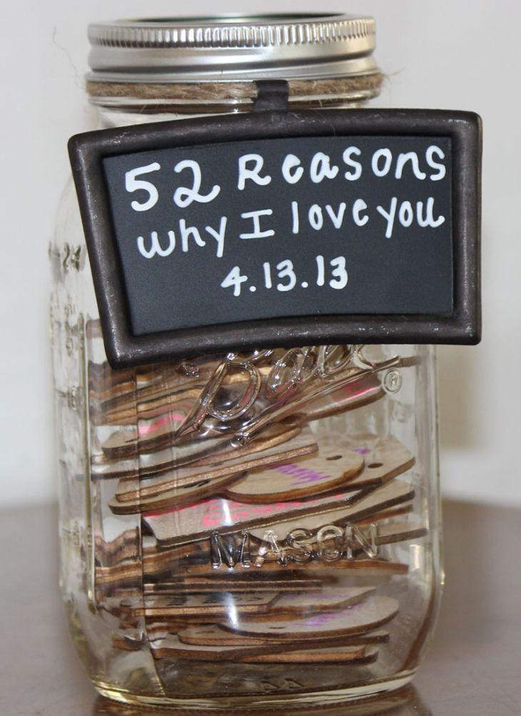 First Anniversary Wedding Gift: DIY: 1st Wedding Anniversary Gift Idea #wedding #gift