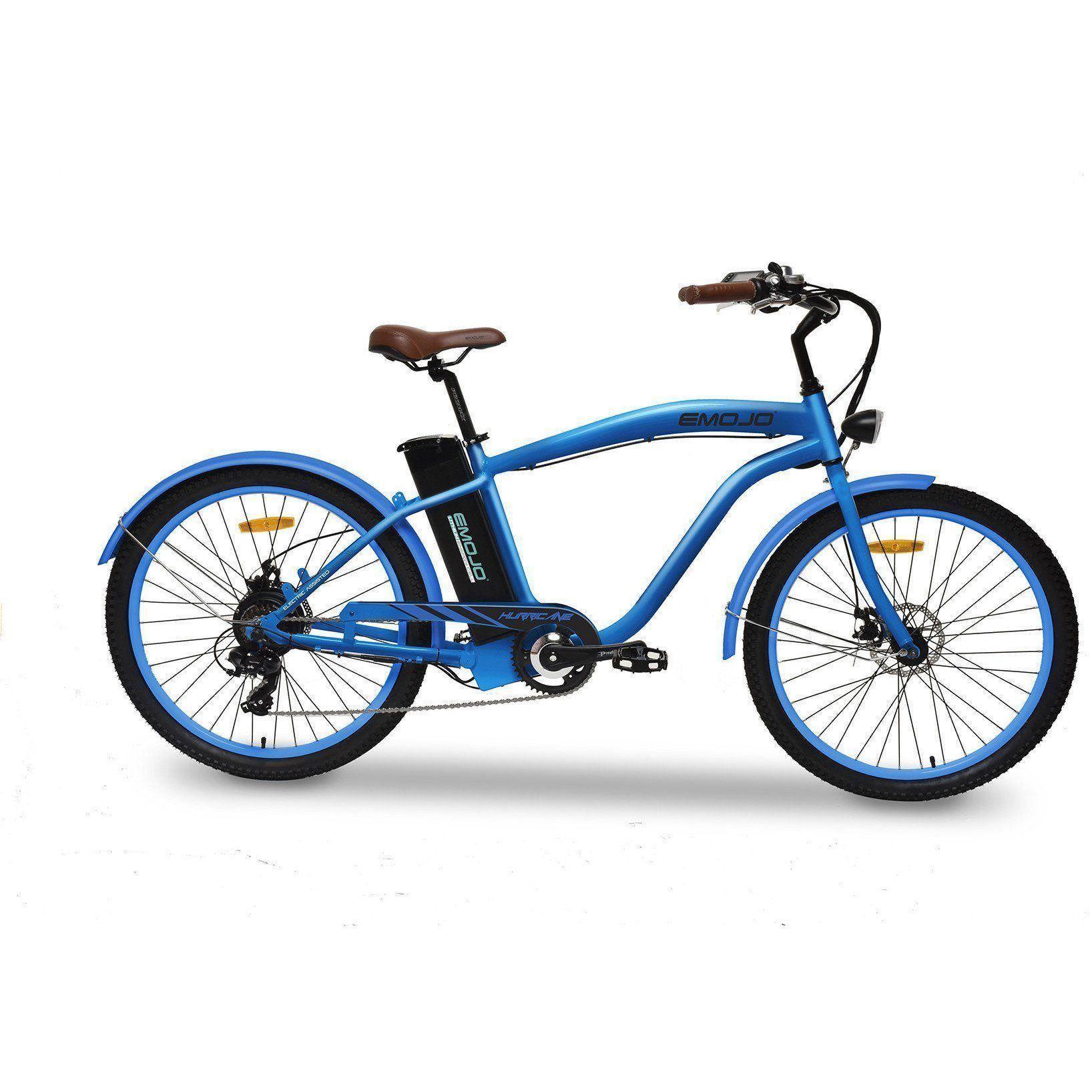 Emojo Hurricane Cruiser Electric Bike Electric Bike Beach Cruiser Electric Bike Cruiser Bike