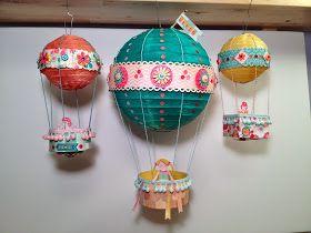 Beth Watson Design Studio: Hot Air Balloon Tutorial