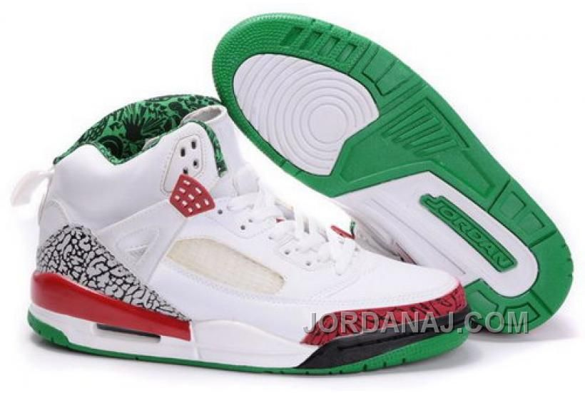 http://www.jordanaj.com/norway-air-jordan-spizike-35-retro-mens-shoes-white-green.html NORWAY AIR JORDAN SPIZIKE 3.5 RETRO MENS SHOES WHITE GREEN Only 85.94€ , Free Shipping!