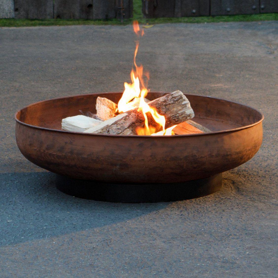 Coral Coast Sechee Large Round Iron Wood Burning Fire Pit Wood Burning Fire Pit Iron Fire Pit Cast Iron Fire Pit