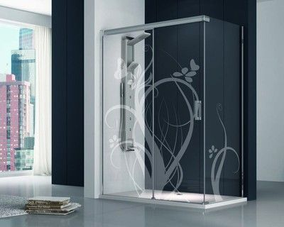 Resultado de imagen para decoracion mamparas de ducha - Decoracion mamparas ...
