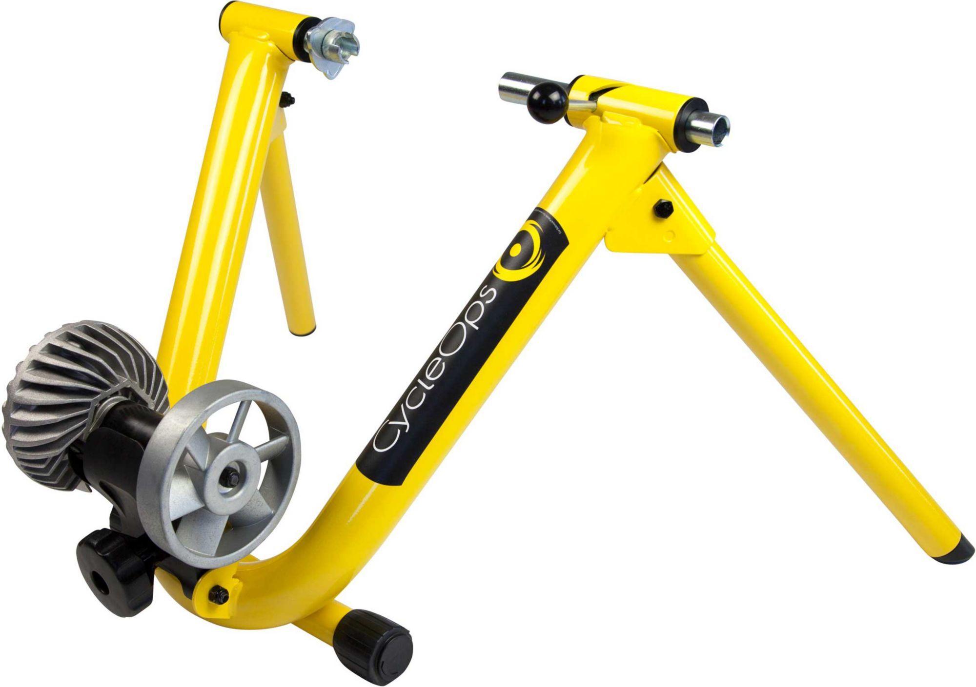 CycleOps Fluid Indoor Bike Trainer, Yellow Indoor bike