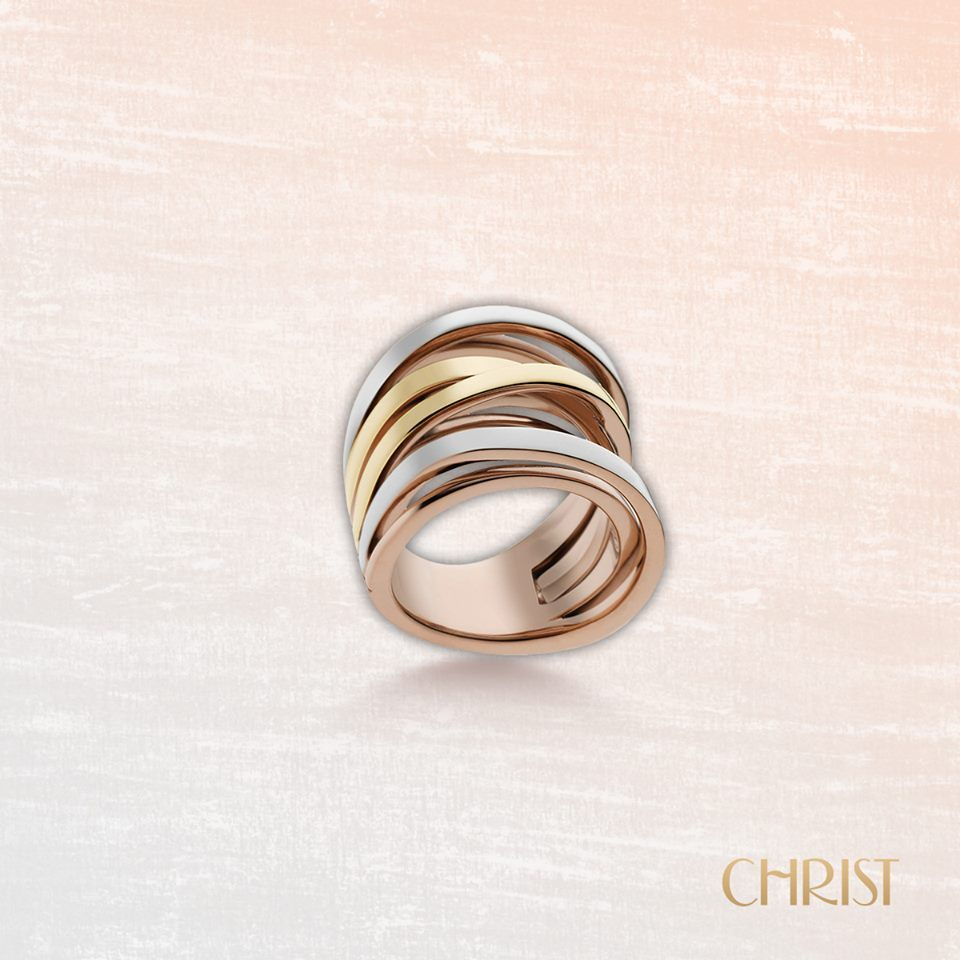 Christ ring tricolor