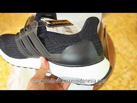 Sepatu Lari Adidas Ultraboost Core Black Ba8842 Original Black The Originals Adidas