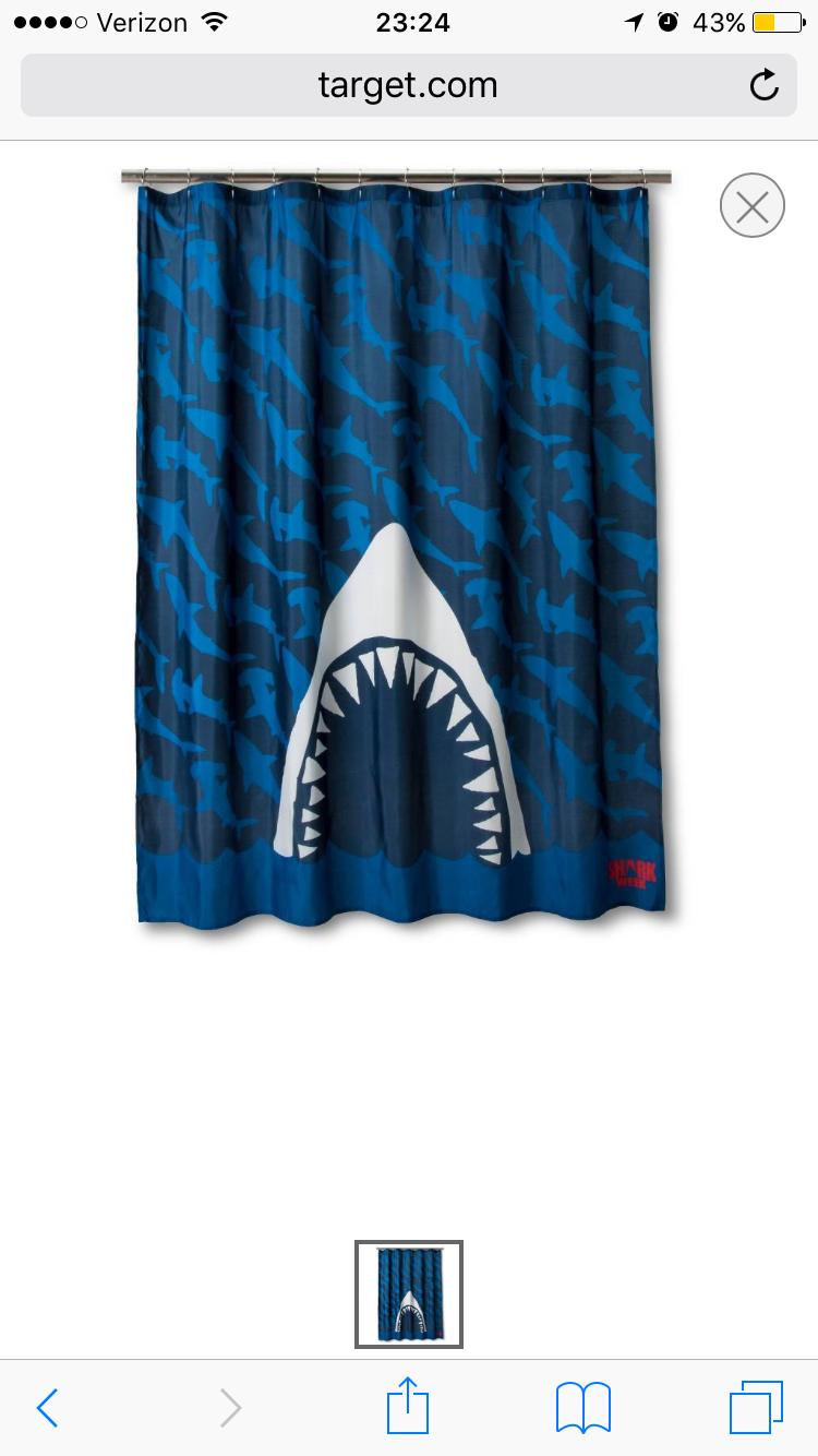 Pin By Ashley Corso On Kids Bathroom Shark Week Shark Bathroom