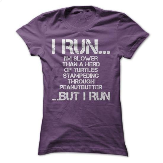 I Run! - teeshirt dress #teeshirt #style