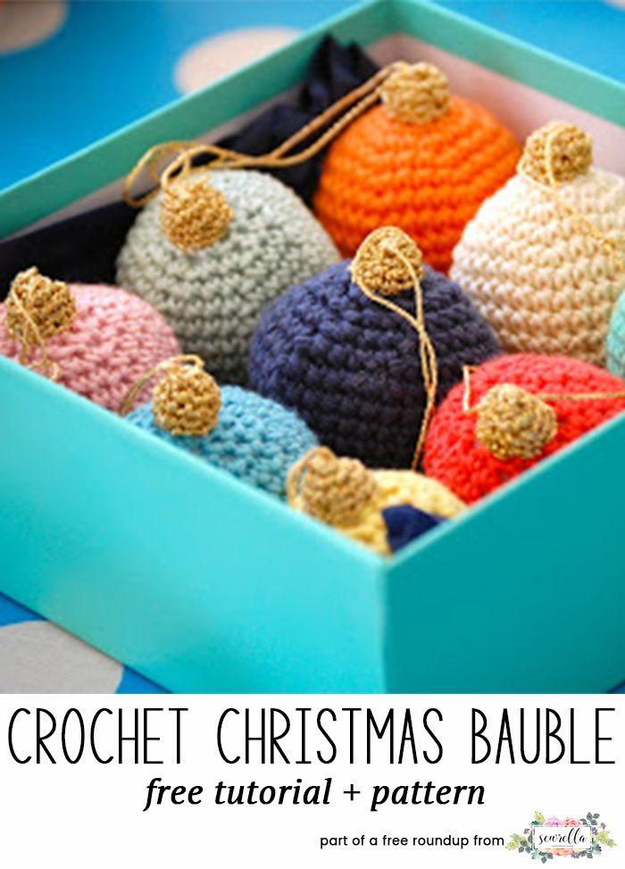 The Ultimate Crochet Christmas Ornaments Roundup | Ganchillo ...