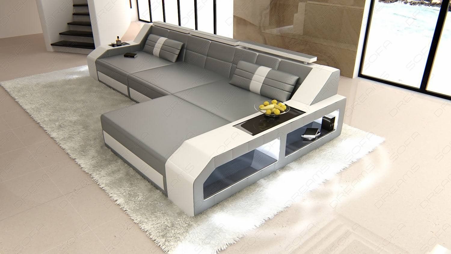 Sectional Leather Sofa Houston L Shape In 2020 Modern Leather Sectional Modern Sofa Sectional Modern Sectional