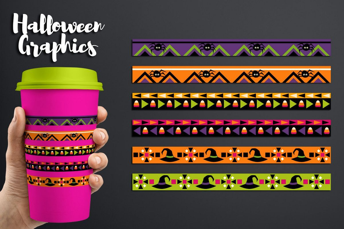 Halloween long ribbons design clipart graphics #png # ...