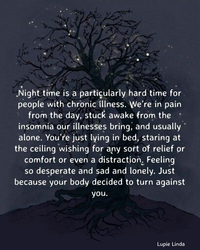 Painsomnia...these are the times, you make all the difference.
