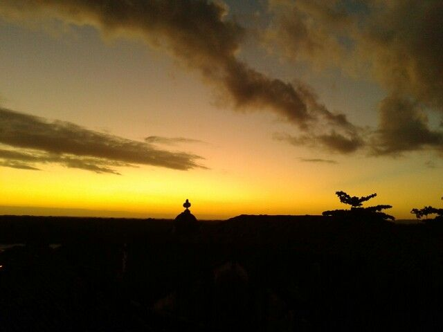 Sunset em João Pessoa - Paraíba. Um dos mais lindos que conheço.