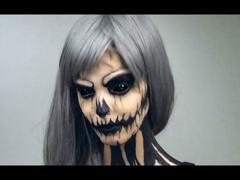 25 creepiest halloween makeup ideas and creepy halloween makeup presents creepy halloween costume creepy halloween and halloween makeup ideas