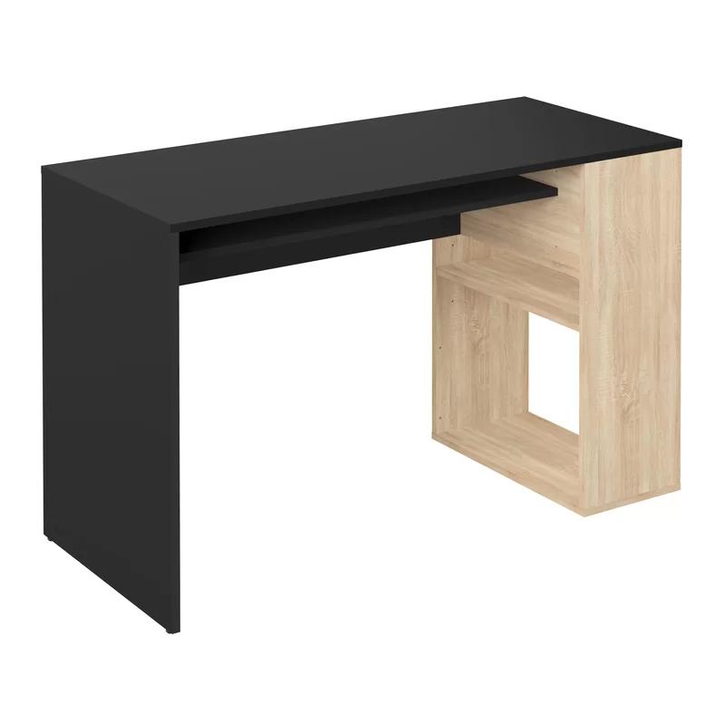 Antal Desk Adjustable Shelving Oak Storage Spaces