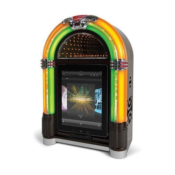 ION Audio Retro Rocker Jukebox Speaker Dock for iPad