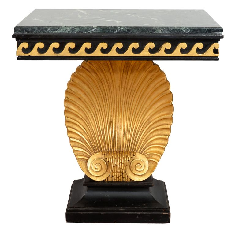 A Mid Century Seashell Console Table By Edward Wormley For Dunbar From A Unique Collection Of Antique And Modern Console Tables At Http Www 1stdibs Mobilya