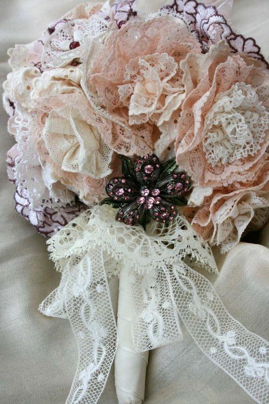 Jaw Dropping Non Floral Bouquet Ideas Vintage Bridal Bouquet