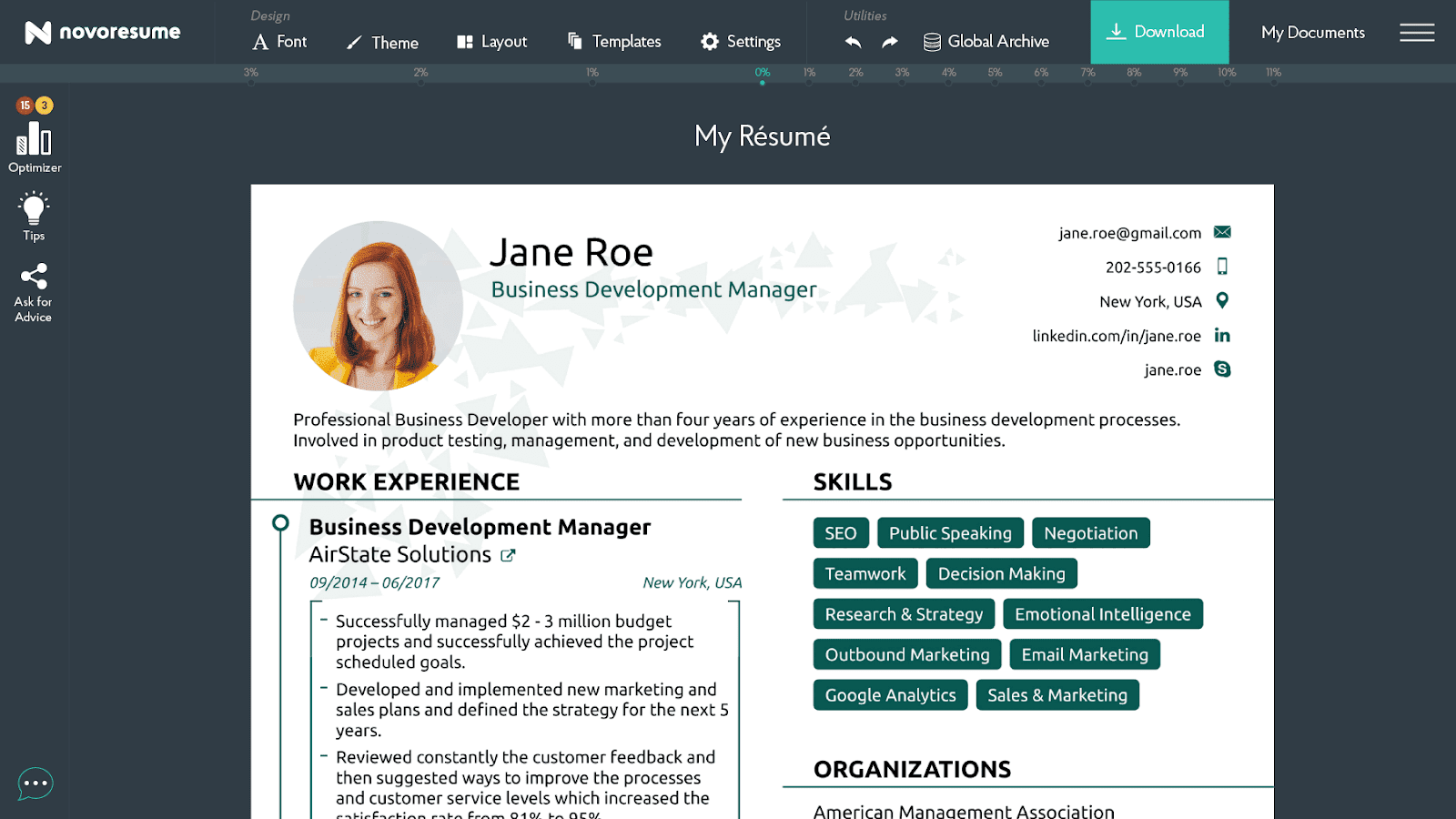 Actually Free Resume Builder 2019 Resume Builder Templates