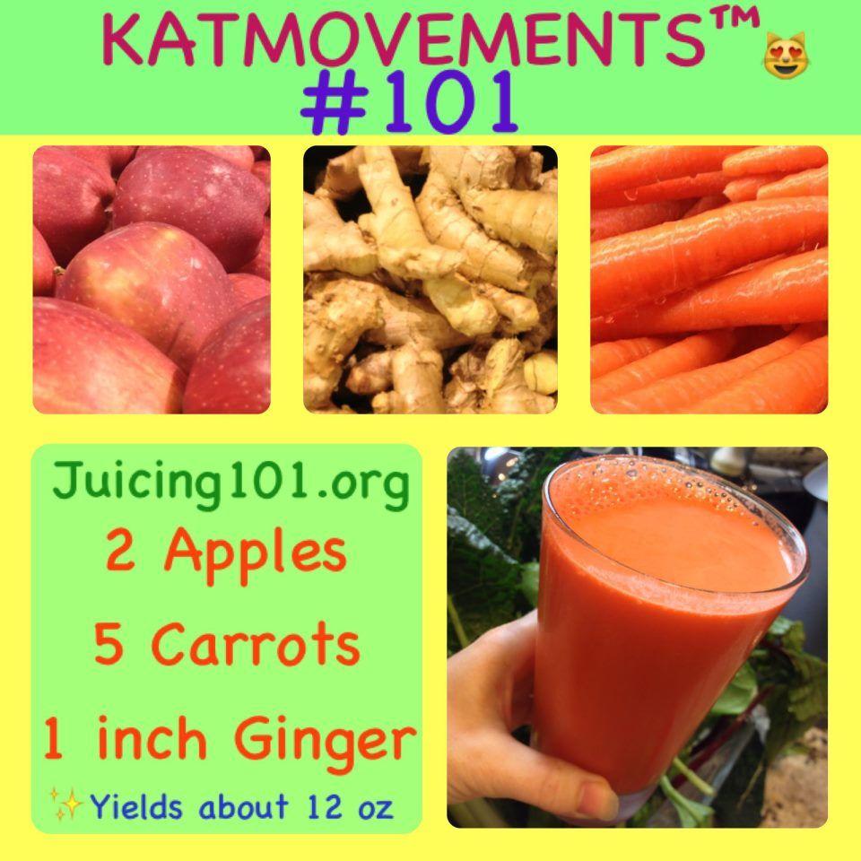 Juicing Vegetables & Fruit #101 Easy Beginner Juice Recipe