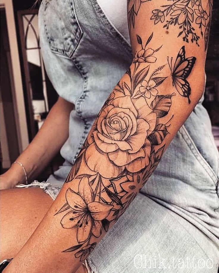 Photo of Pin tattoo on arm