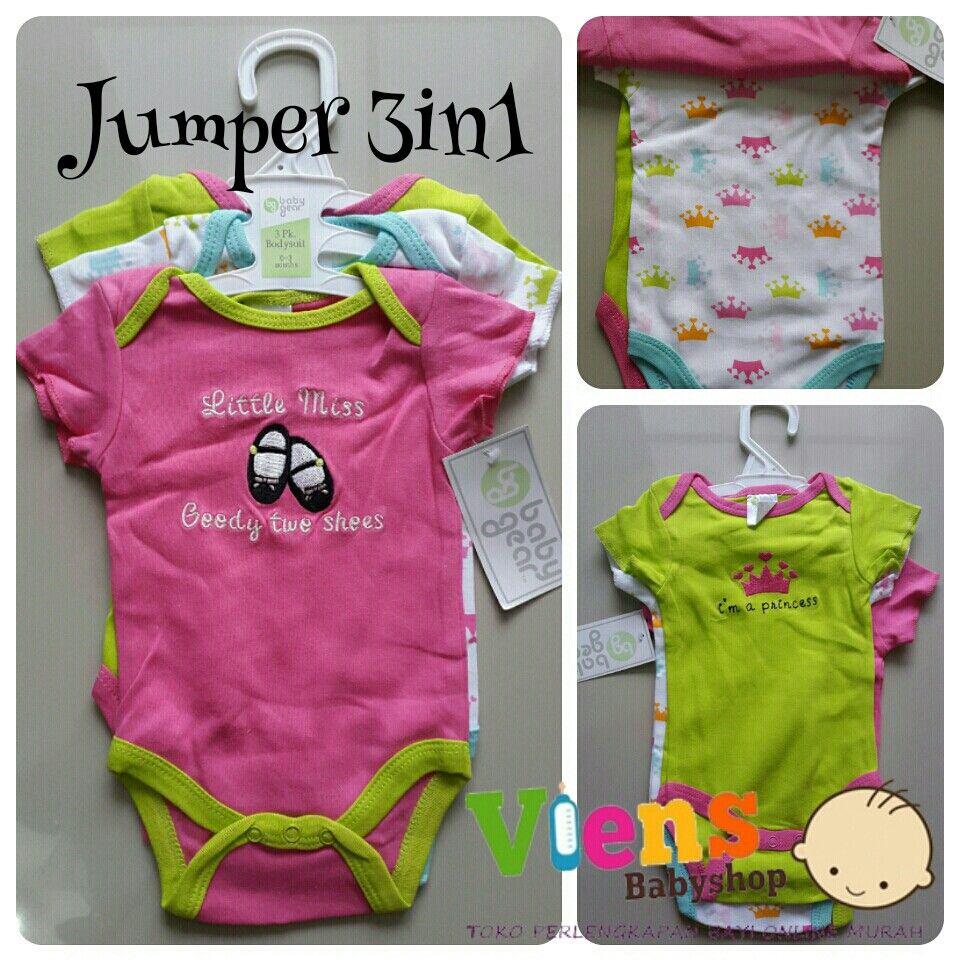 Jumper 3in1 + Hanger Size 03m & 36m Merk Baby Gear