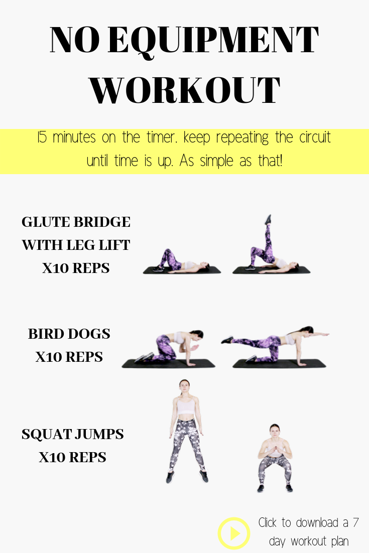 Pin On Simple Quick Exercises At Home